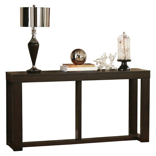 brown black sofa table photo - 9