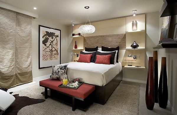 candice olson bedroom built ins photo - 4