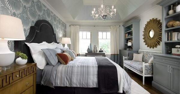 candice olson bedroom built ins photo - 5