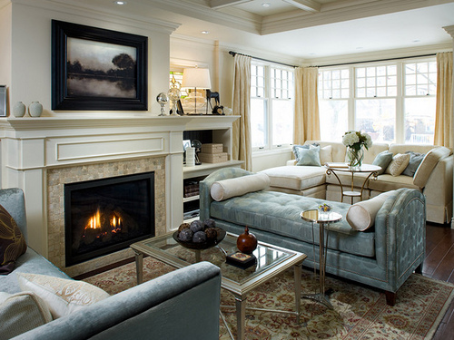 candice olson bedroom fireplace photo - 7