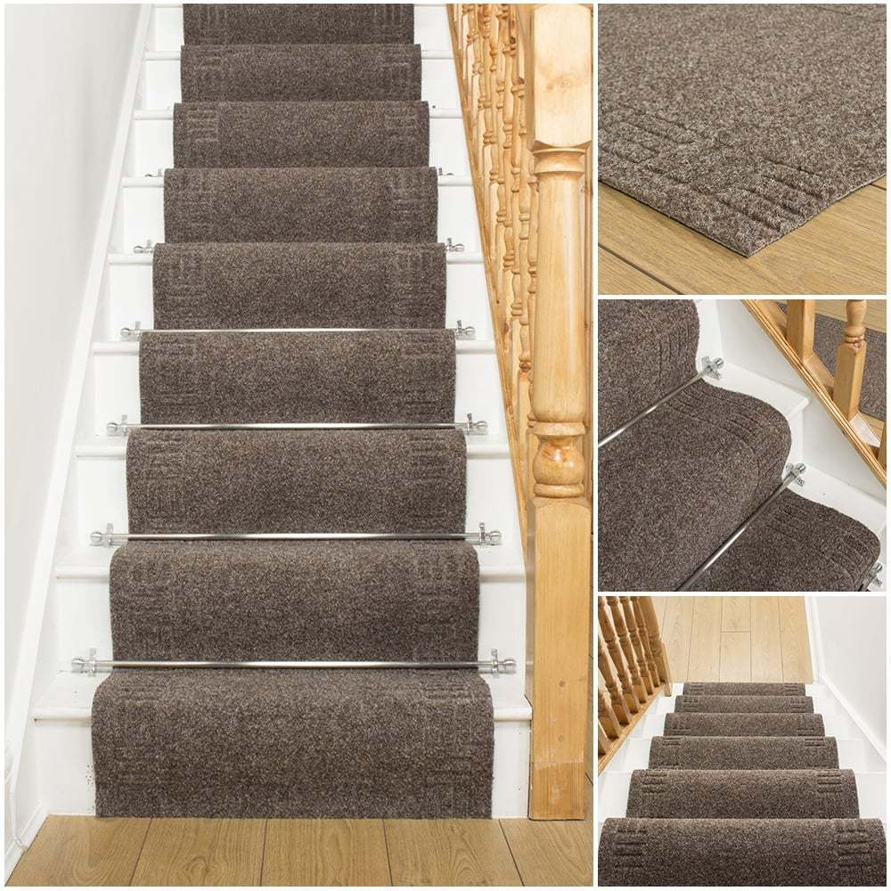 carpet runner for stairs photo - 3