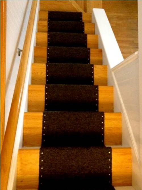 carpet runner for stairs home depot photo - 4