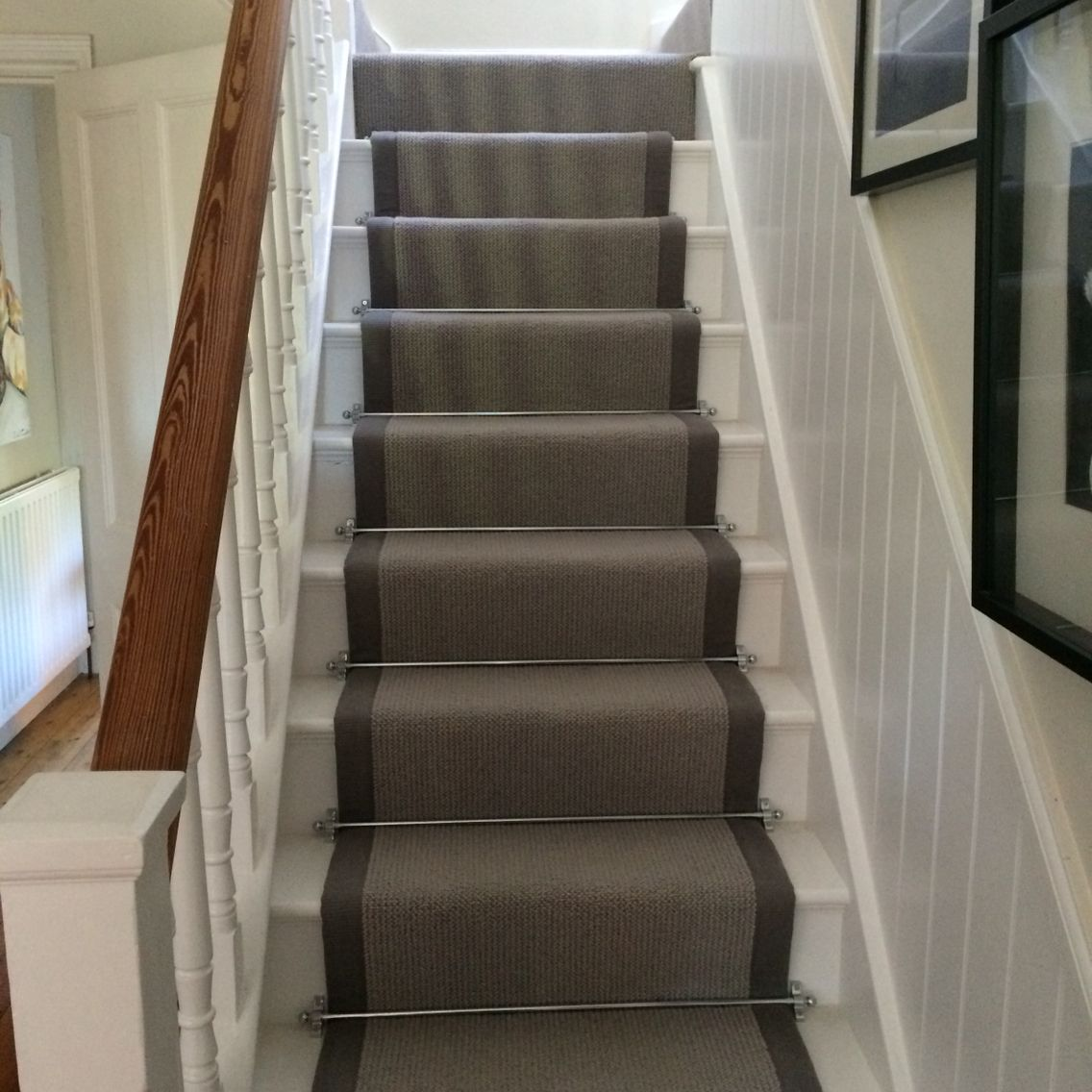 carpet runner stair bars photo - 1