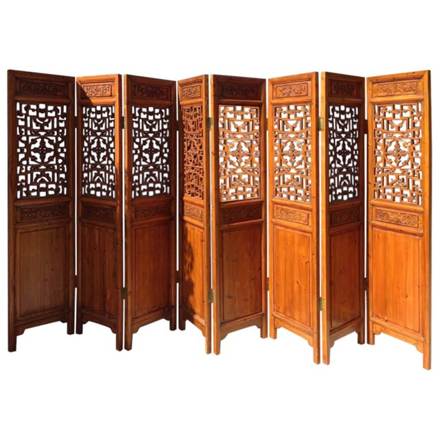 chinese room dividers antique photo - 8
