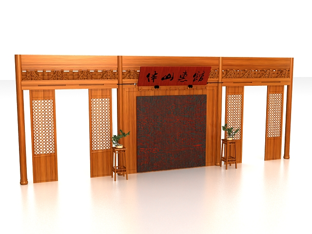 chinese wall room dividers photo - 10