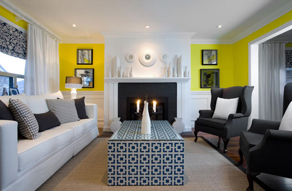 colin and justin living room designs photo - 10