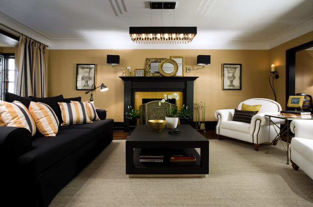colin and justin living room designs photo - 8