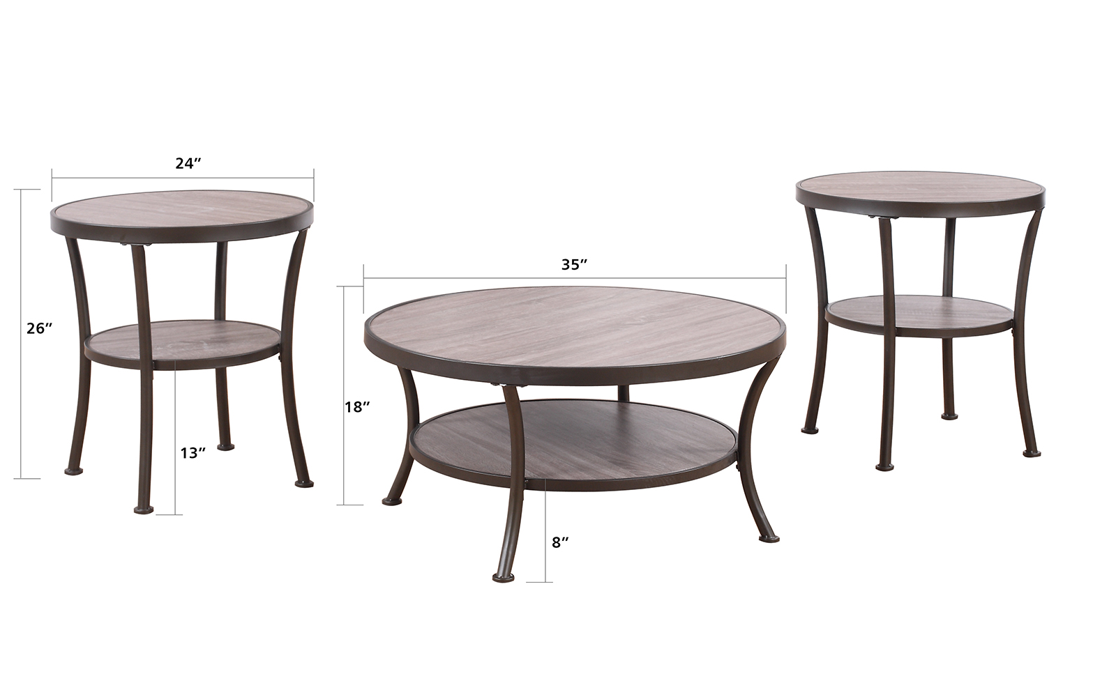 contemporary coffee tables and end tables photo - 4