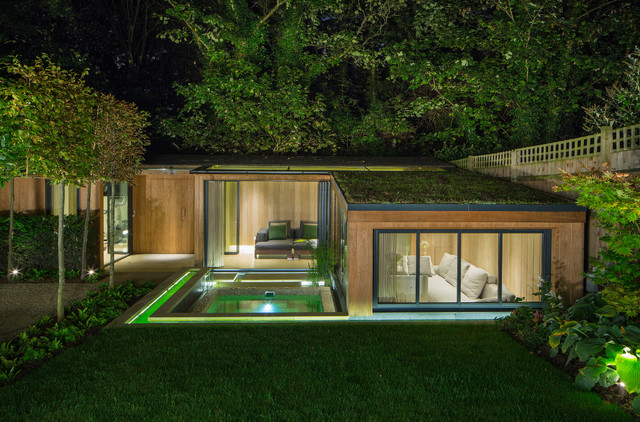 contemporary garden building plans photo - 3