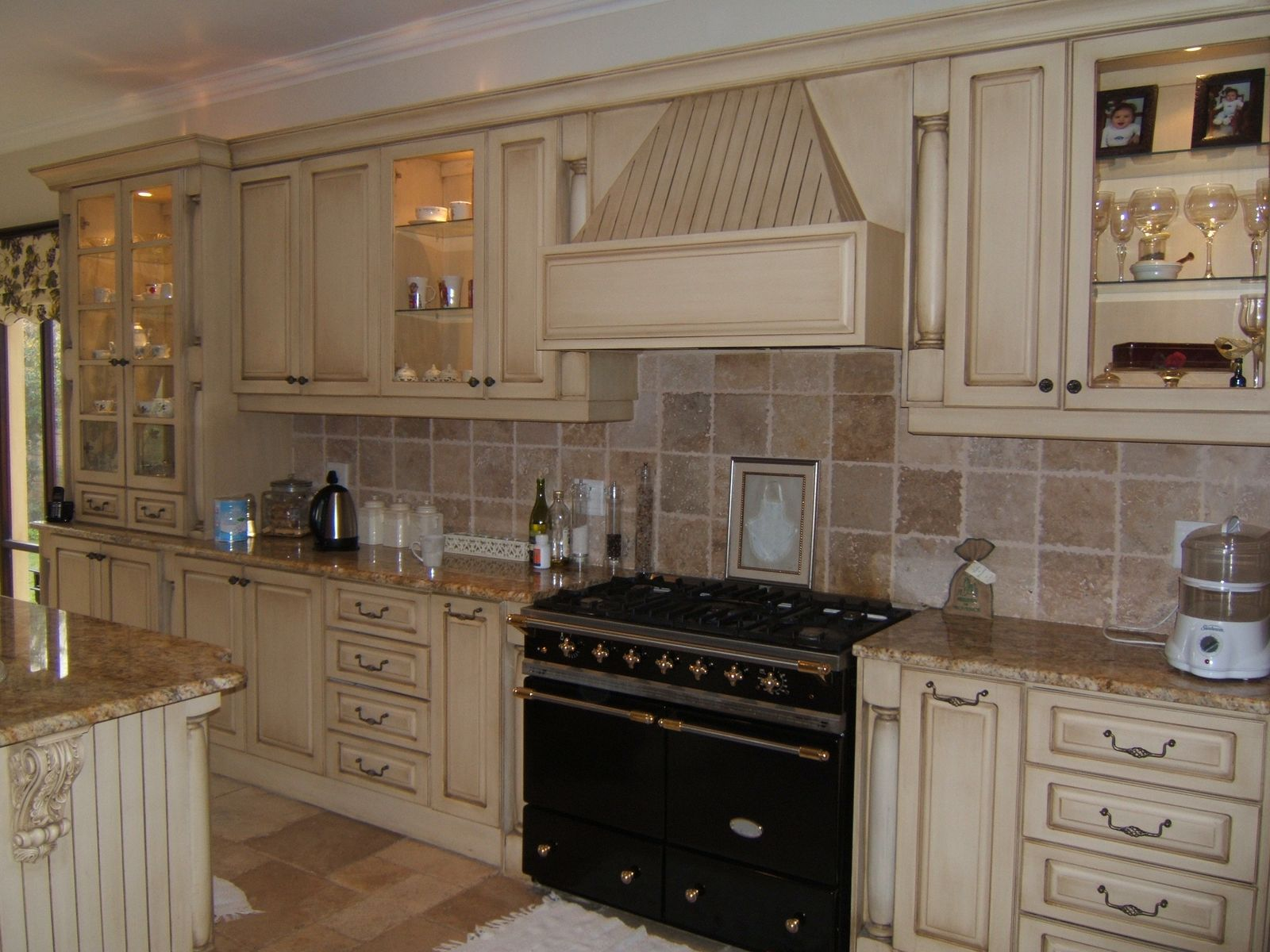 country kitchen backsplash designs photo - 4