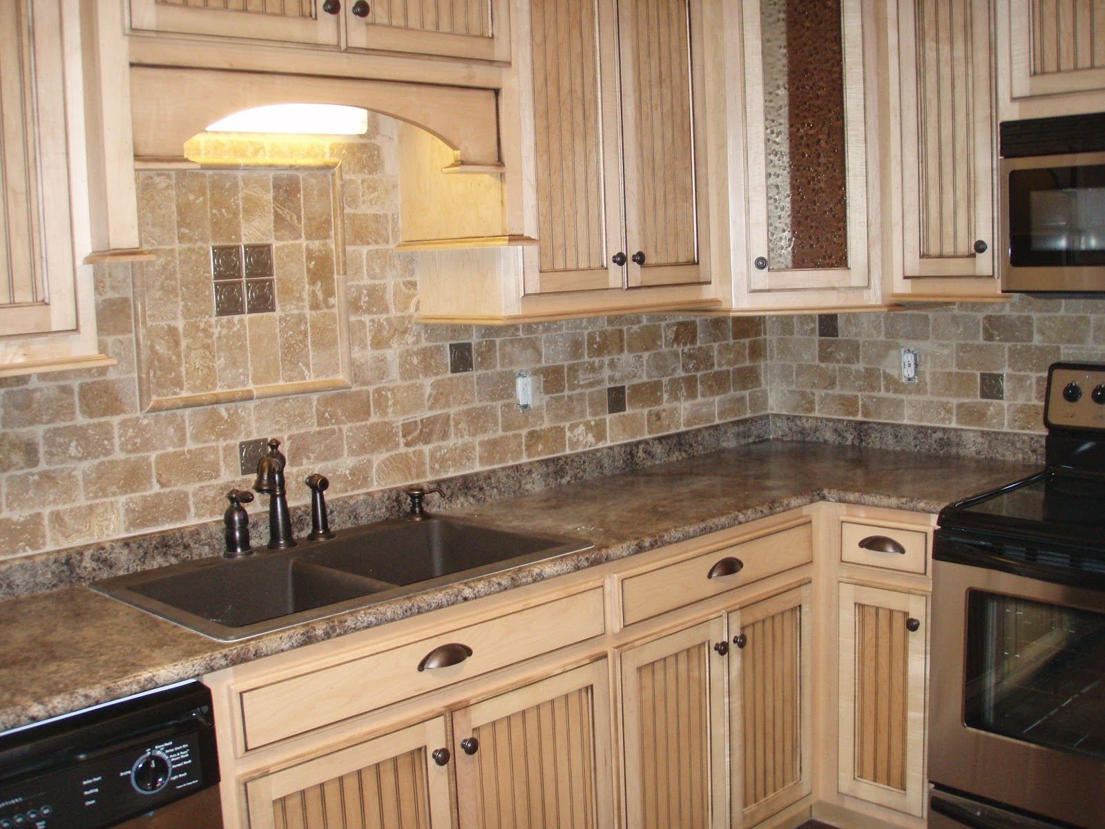country kitchen backsplash designs photo - 9