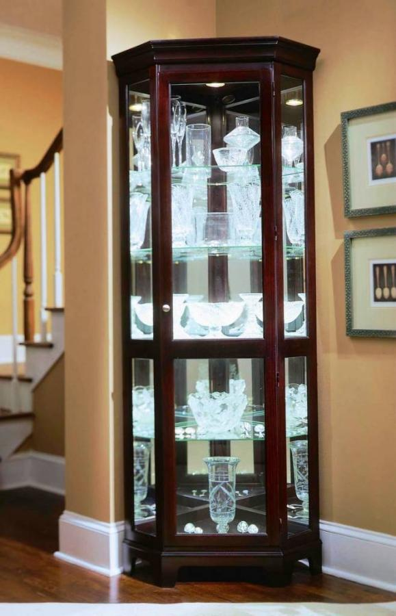 cupboard designs with glass photo - 1