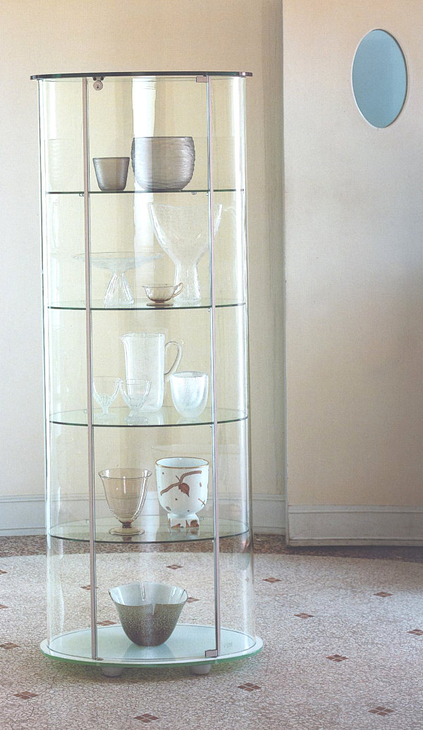 cupboard designs with glass photo - 4