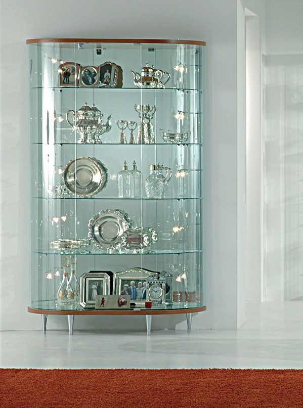 cupboard designs with glass photo - 7