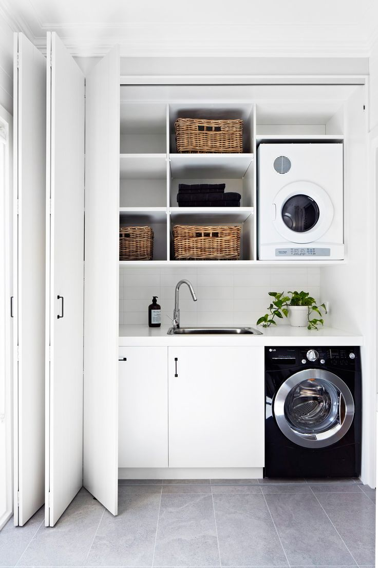cupboard laundry designs photo - 10