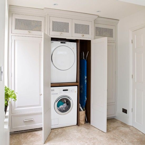 cupboard laundry designs photo - 2