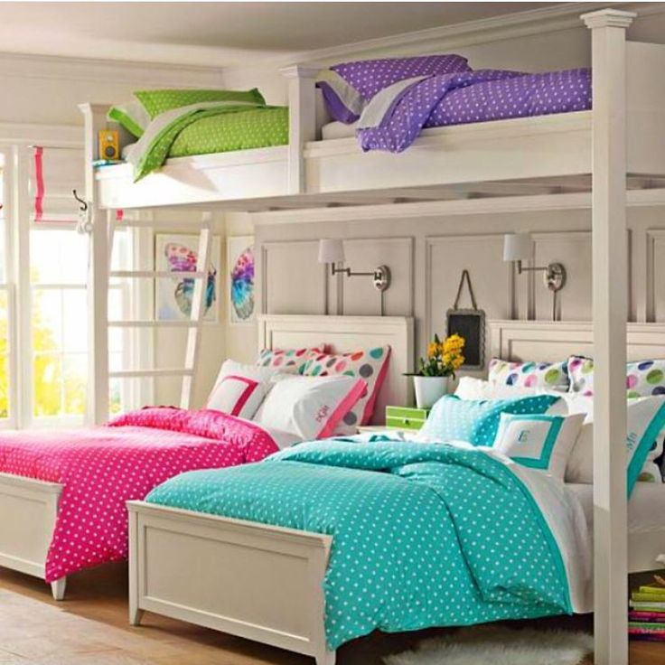 cute bunk bed rooms photo - 1