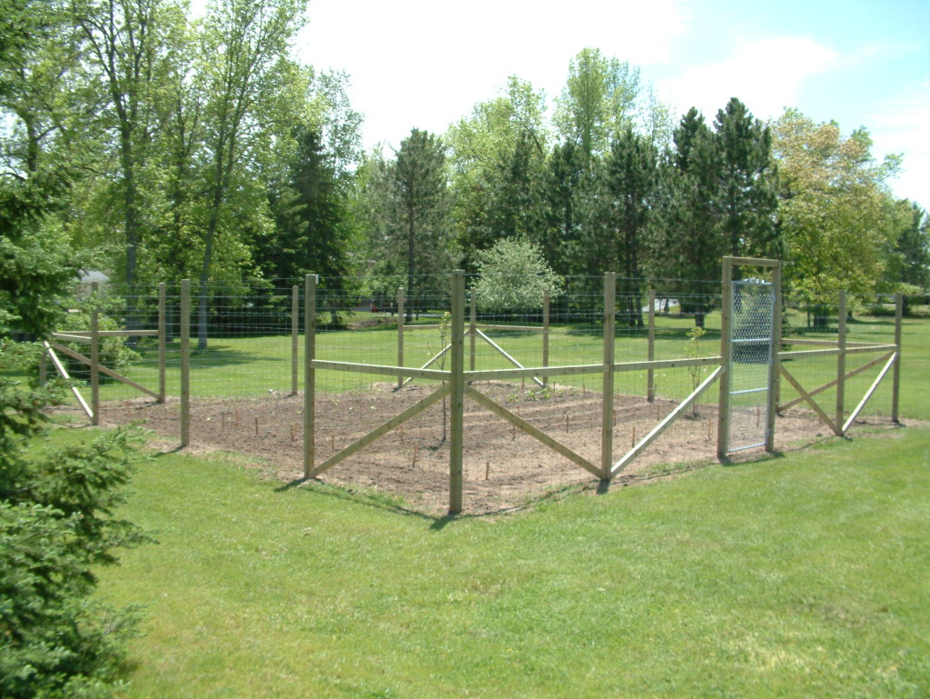 deer fencing ideas photo - 5