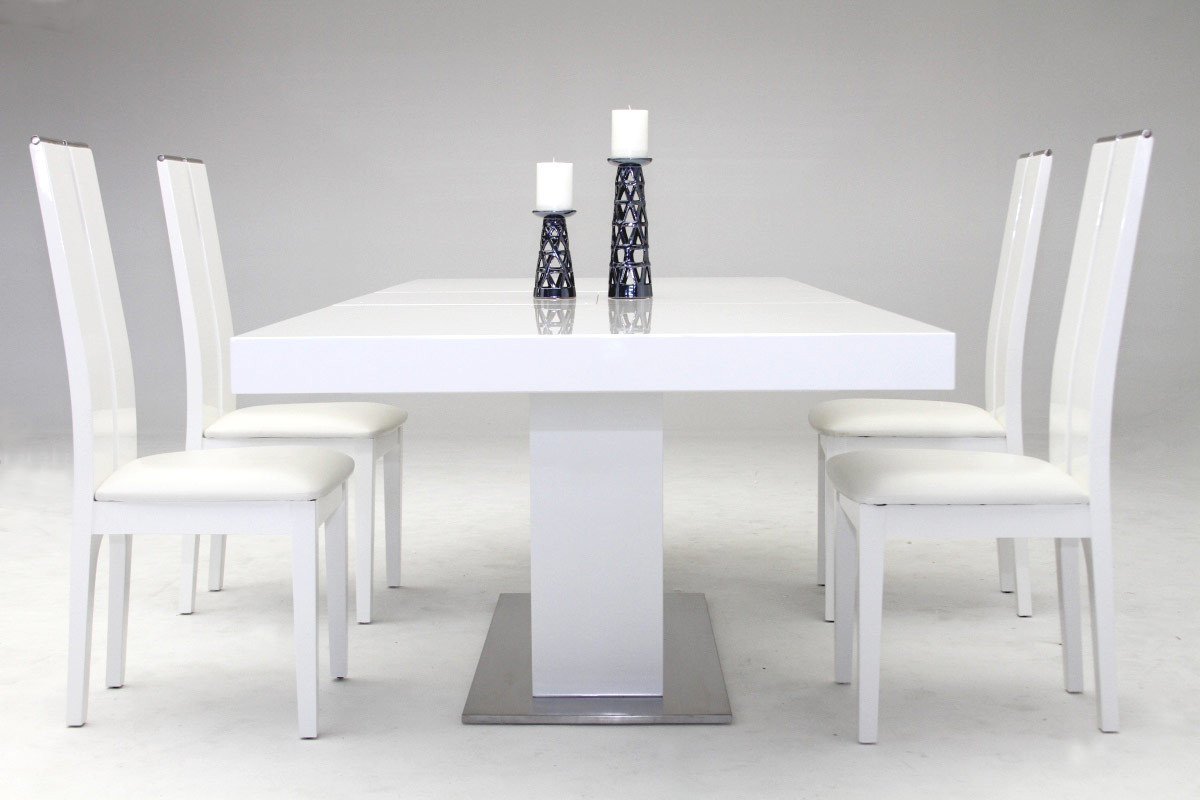 dining tables white photo - 7