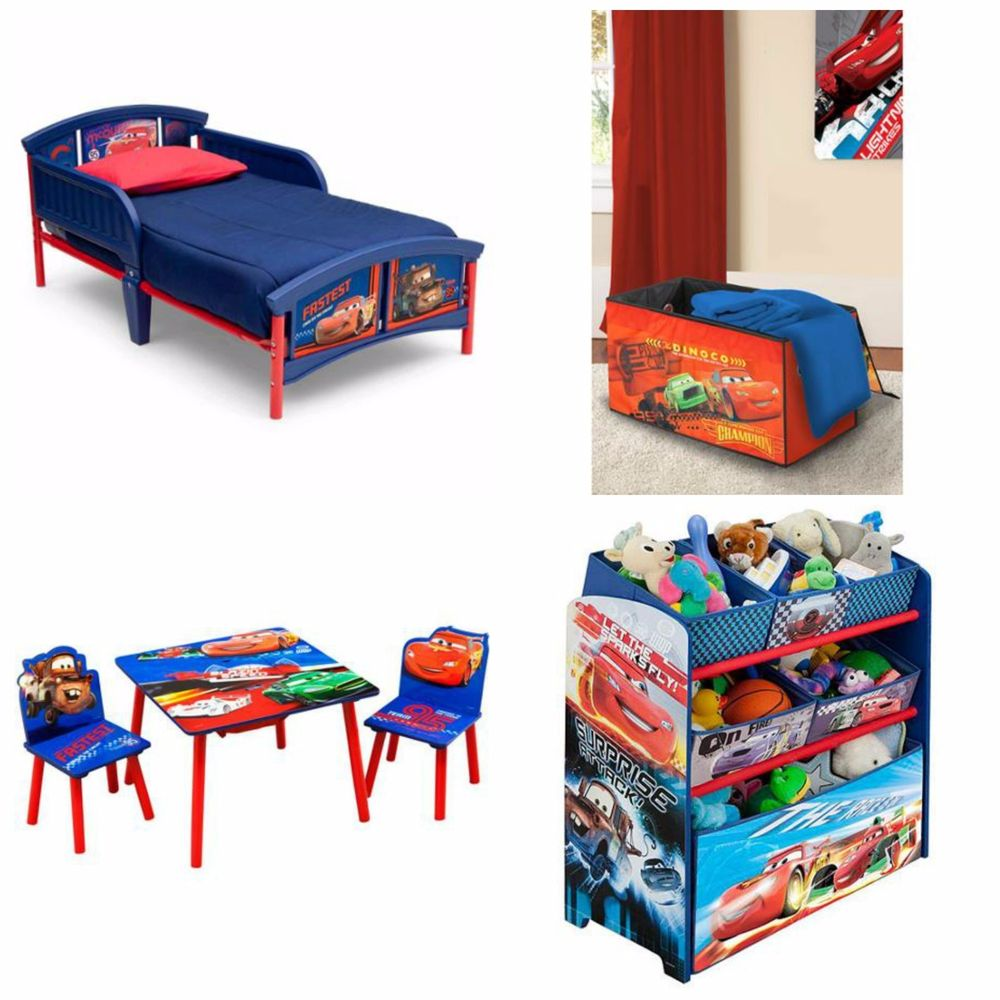 disney cars bedroom furniture for kids photo - 1