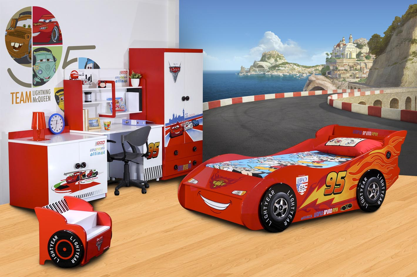 disney cars bedroom furniture for kids photo - 9