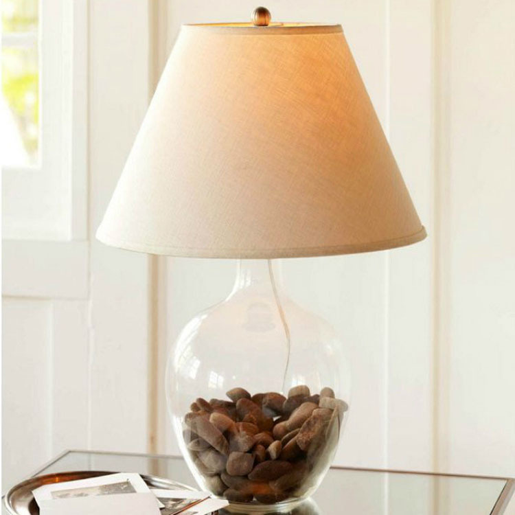 diy bedroom lamp photo - 9