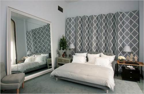 diy hanging room divider screen photo - 10