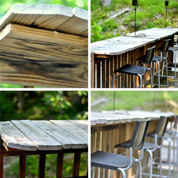 diy outdoor bar designs photo - 5