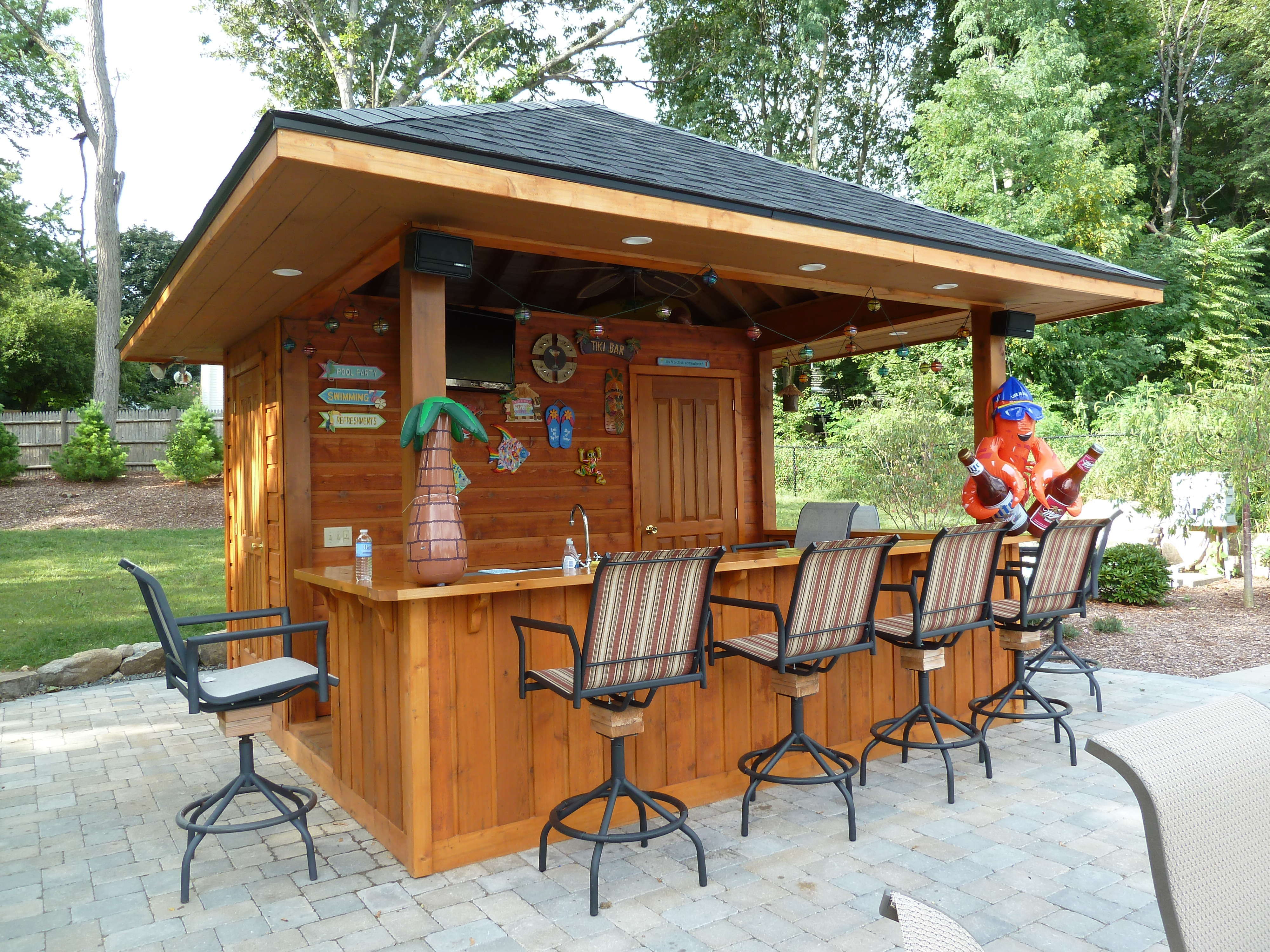 diy outdoor bar designs photo - 9