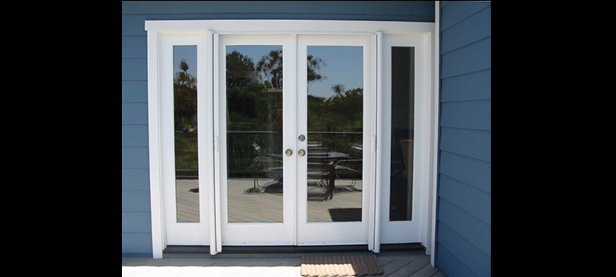 double french doors with screens photo - 10