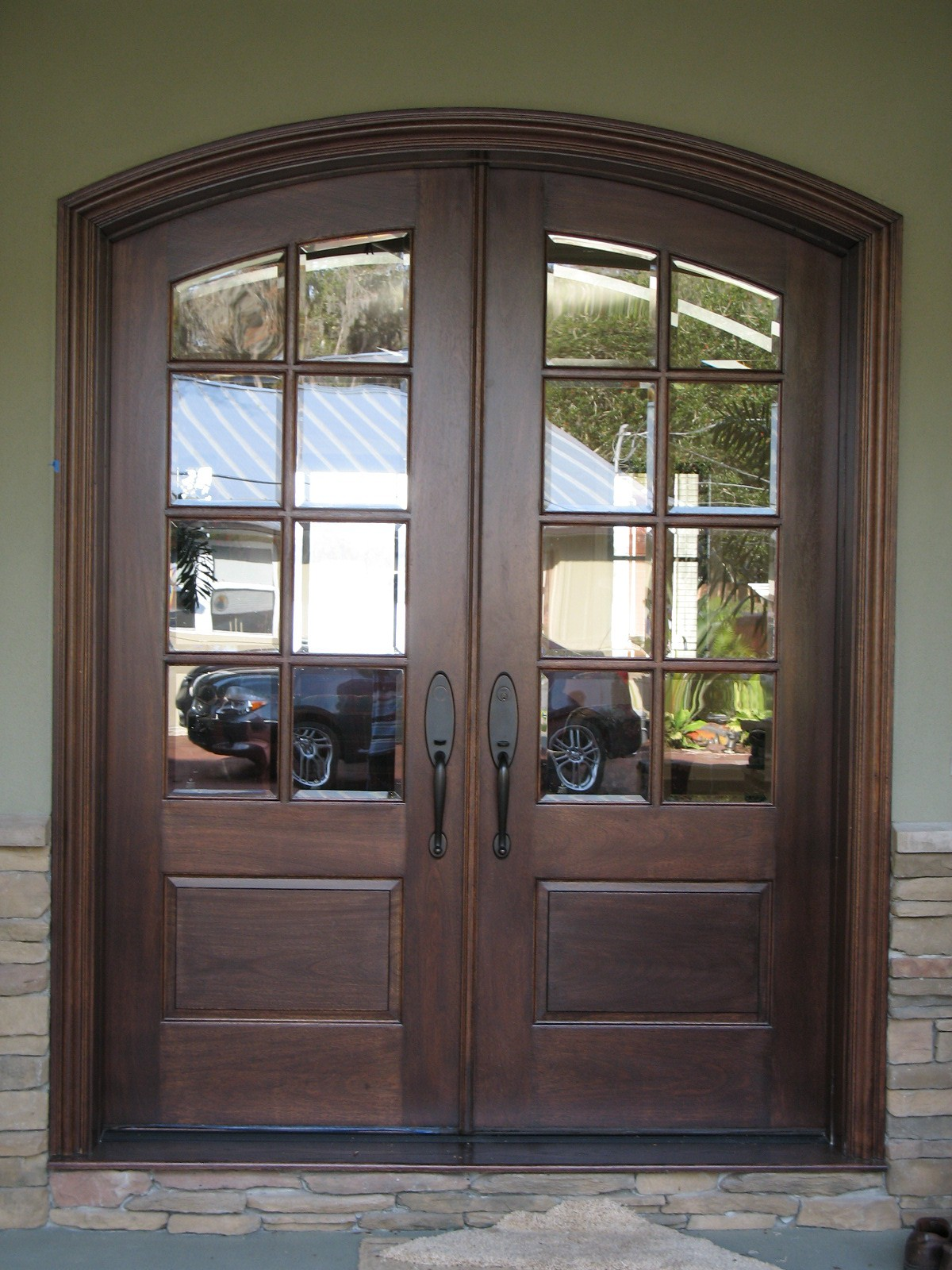 double french entrance doors photo - 7