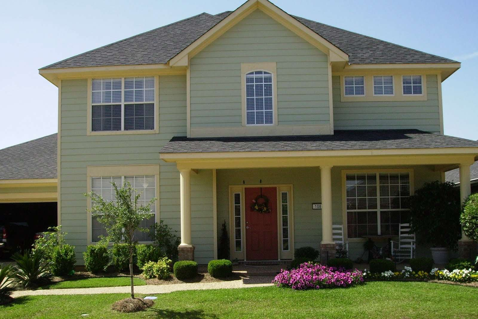 exterior paint colors for house photo - 1