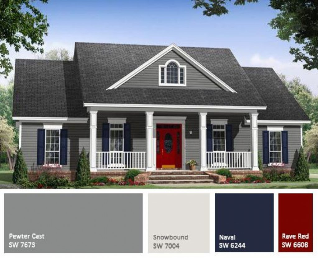 exterior paint colors for house photo - 3