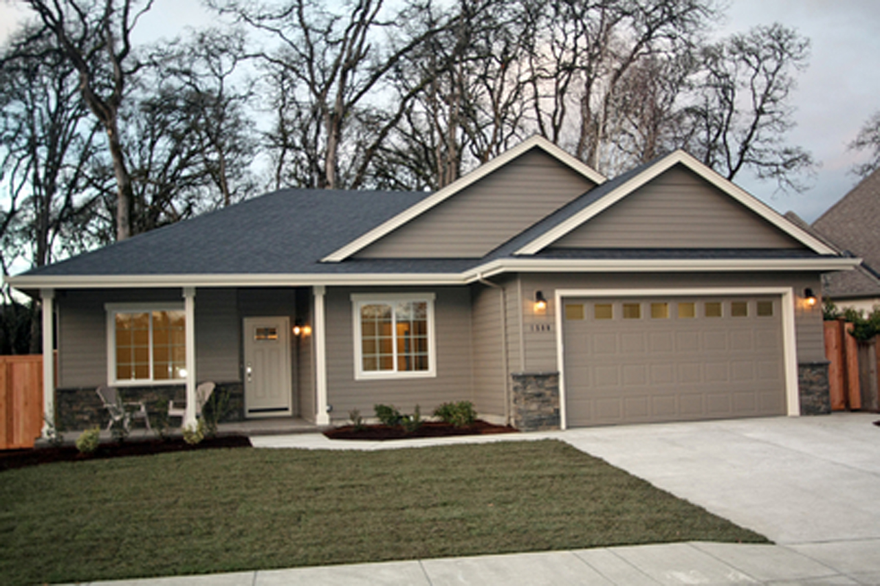 exterior paint colors ranch house photo - 4