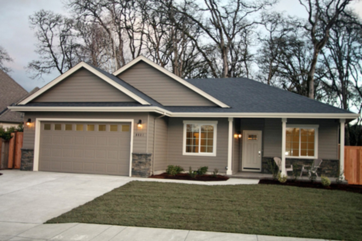 exterior paint colors ranch house photo - 7