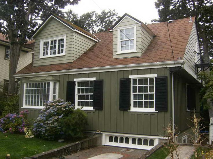 exterior paint colors red photo - 10