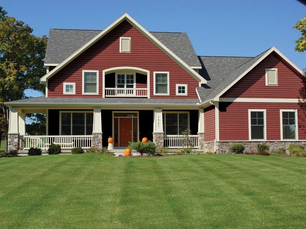 exterior paint colors red photo - 5