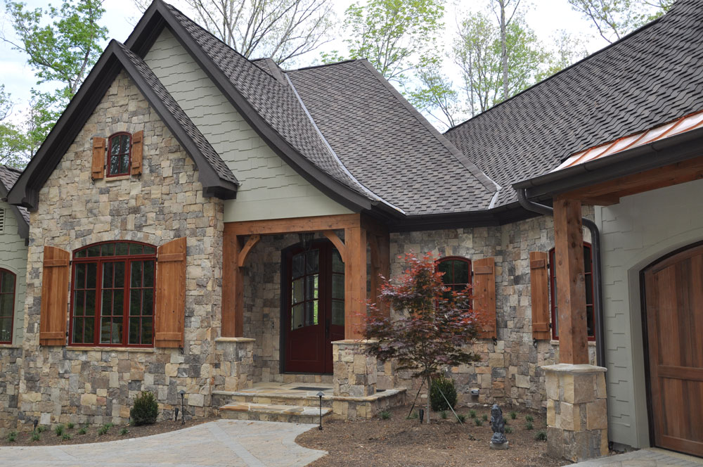 exterior paint colors with stone photo - 4