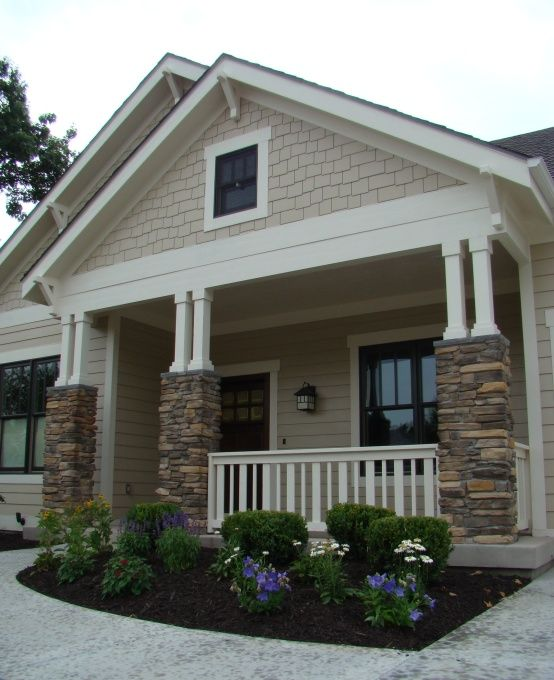 exterior paint colors with stone photo - 7
