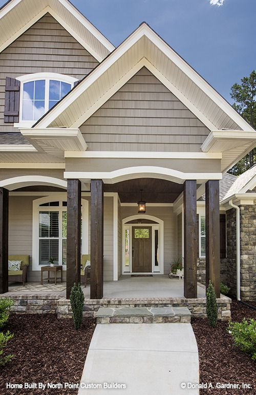 exterior paint colors with stone photo - 9