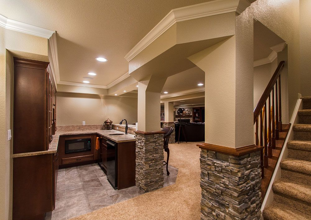 finished basement plans ideas photo - 6
