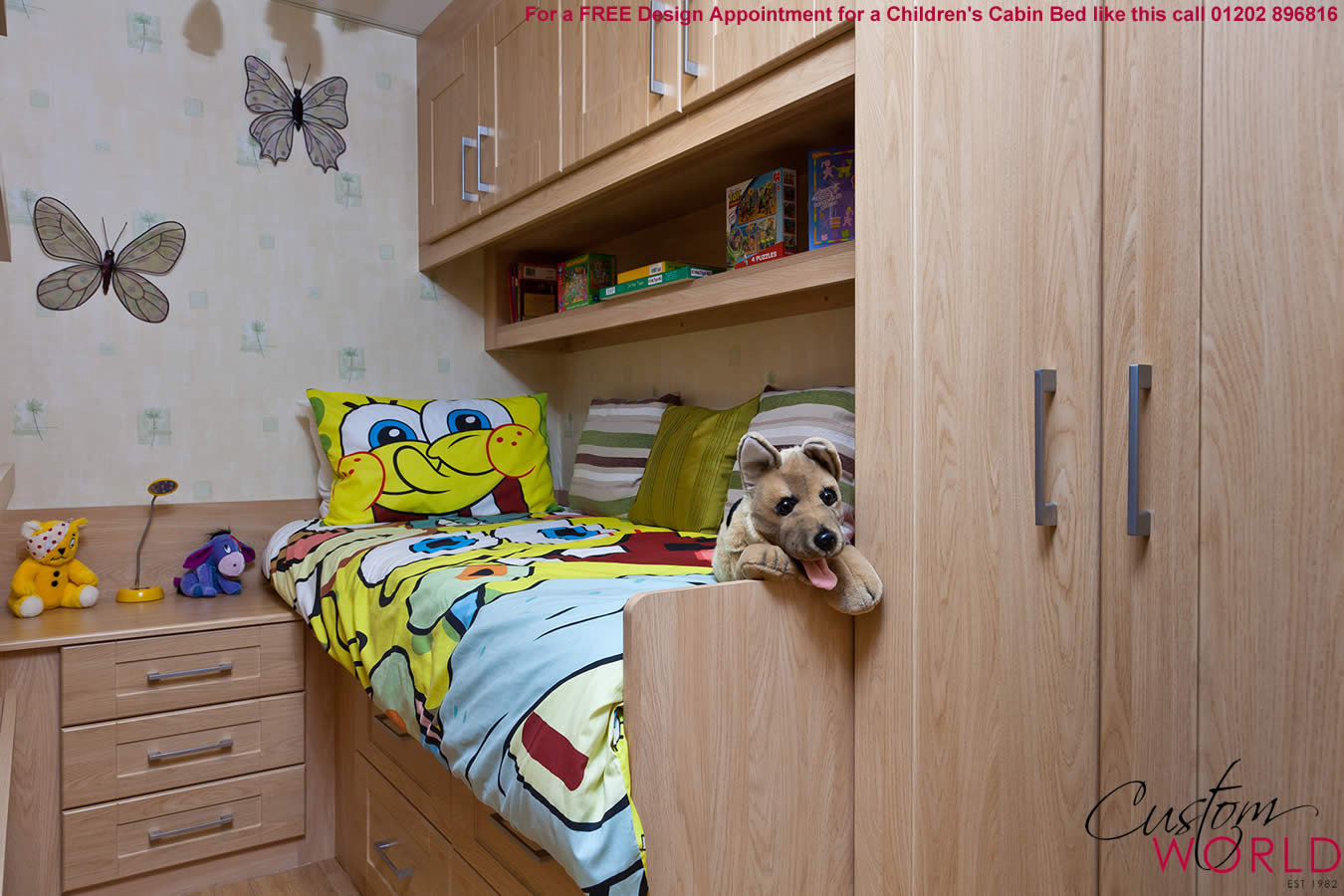 fitted bedroom furniture for kids photo - 9