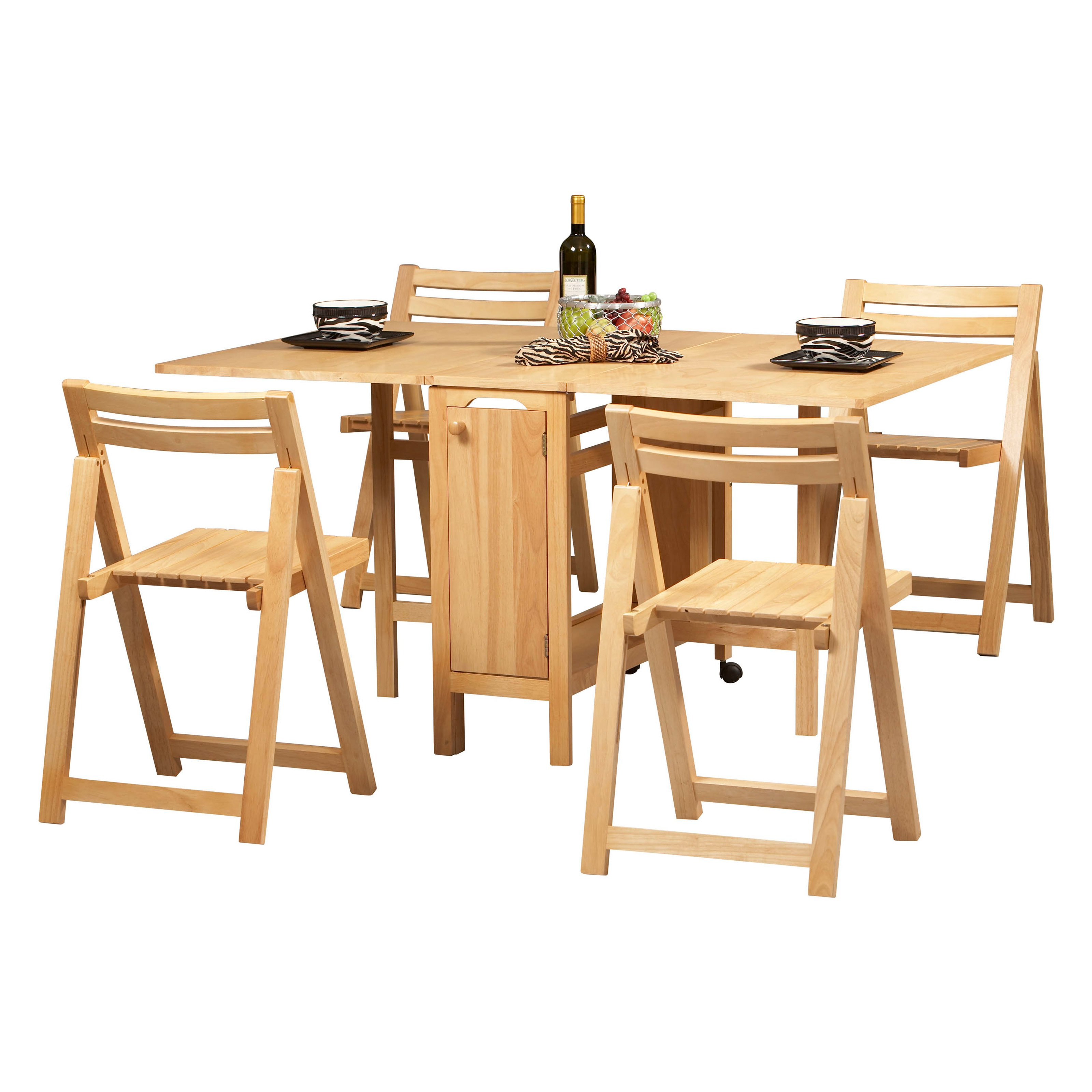 Picture of: Folding Kitchen Table Sets Brooklyn Apartment