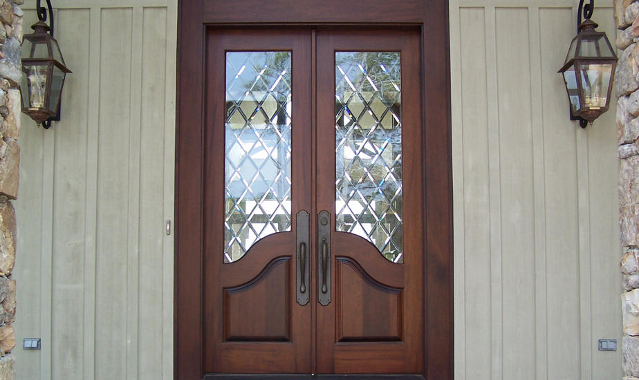 french country double entry doors photo - 1