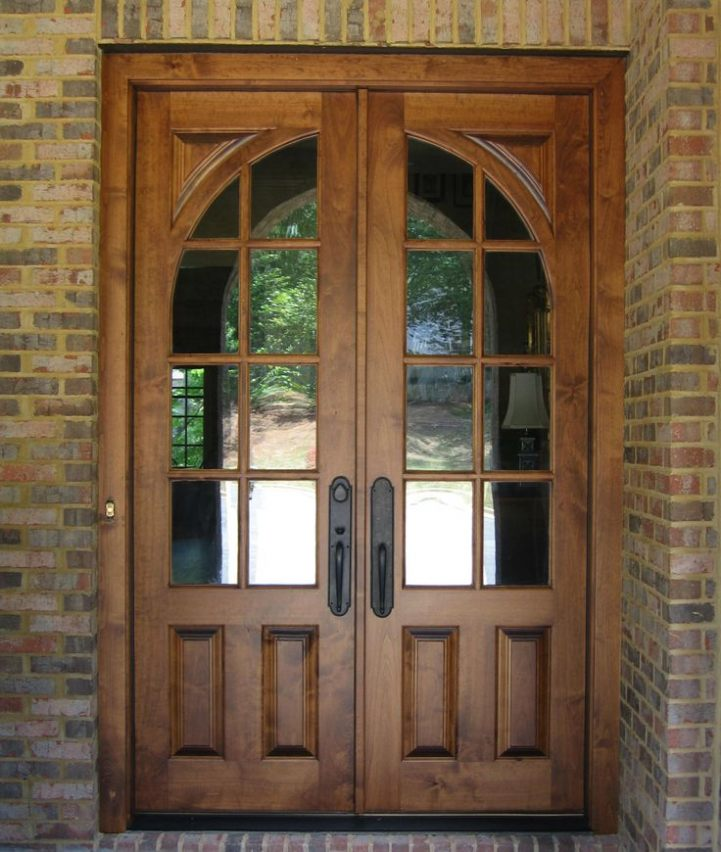 french country double entry doors photo - 10