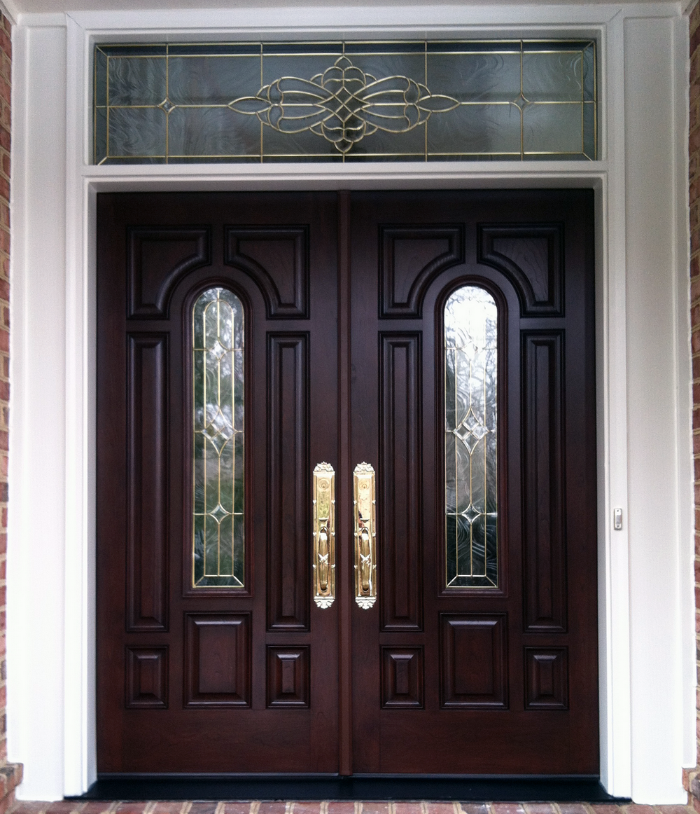 french country double entry doors photo - 2