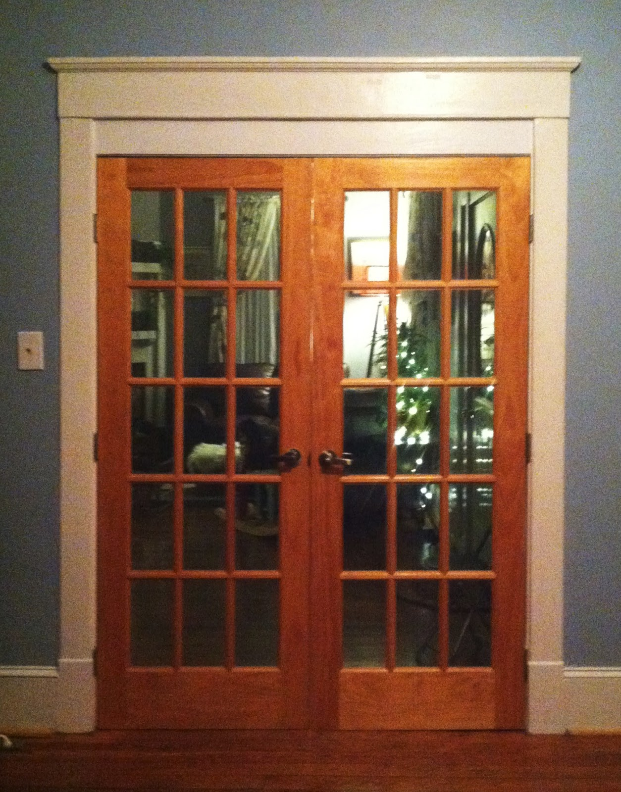 french country double entry doors photo - 9