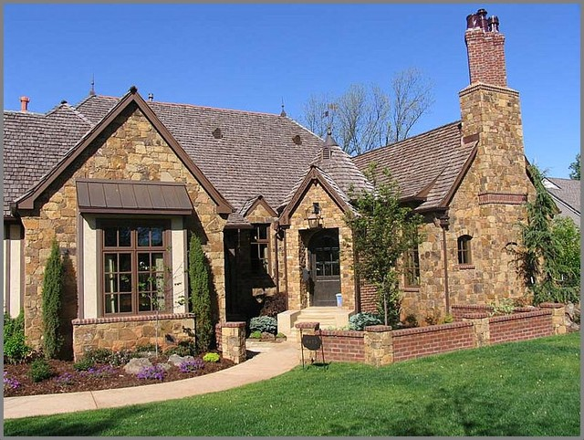 french country exterior ideas photo - 5