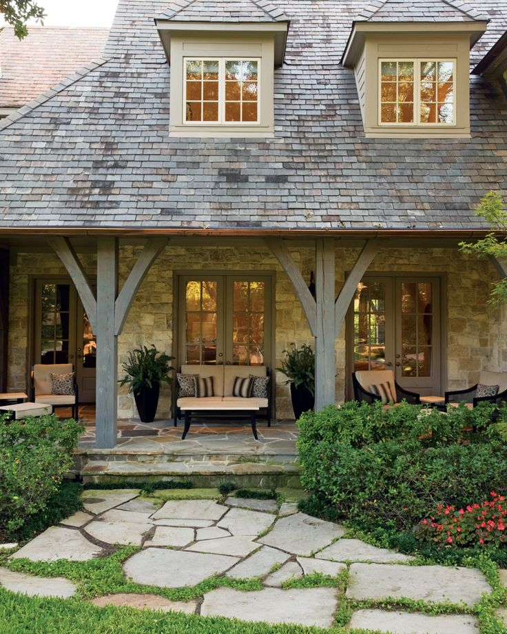 french country exterior ideas photo - 6