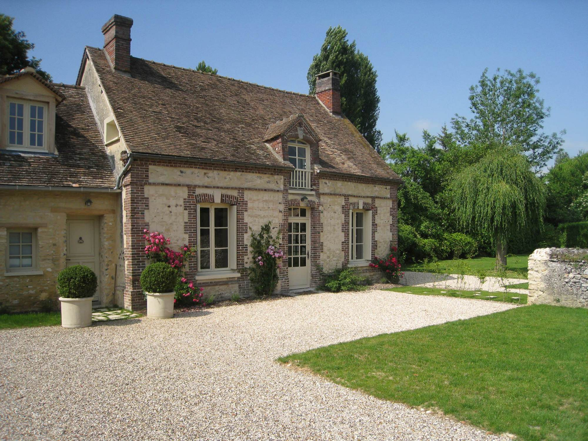 french country exterior ideas photo - 7